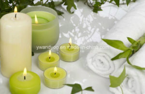 Popular Scented Soy Candle in Square Glass pictures & photos