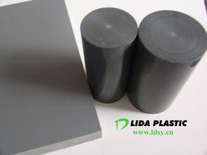 Excellent Quanlity Grey PVC Rod pictures & photos