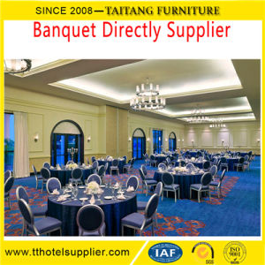 Wholesale Hotel Metal Stackable Iron Banquet Chair pictures & photos