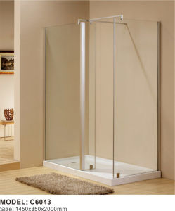 China Made Glass Round Cheap Free Standing Shower Enclosure, Shower Room, Shower Cabinet pictures & photos