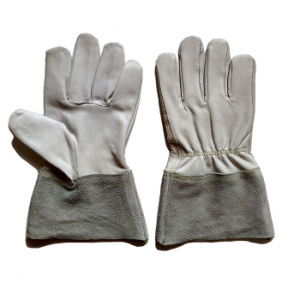 Goat Grain Leather Brazing and TIG Welding Gloves for Workers pictures & photos
