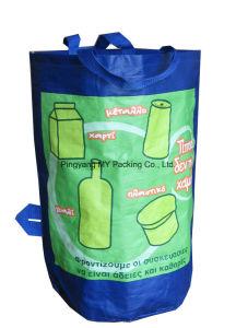 Reusable Laminating Round Shape PP Woven Shopping Bag pictures & photos