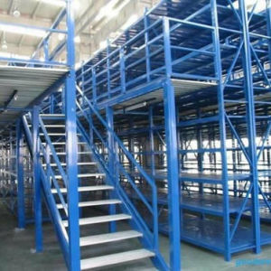 Multi-Floor Warehouse Heavy Loading Storage Mezzanine Shelves pictures & photos