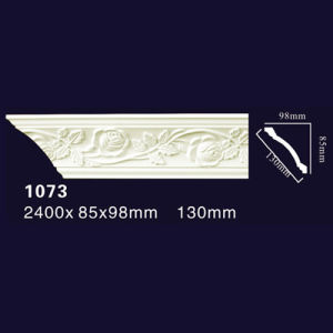1073 PU Molding Cornice Skirting Replace Line Decoration Moulding