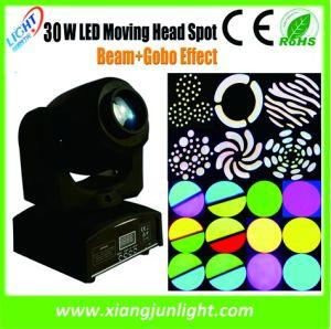 10W/30W LED Mini LED Moving Head Spot Disco Light pictures & photos