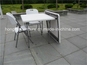 87cm Square Tplastic Folding Table for Wedding Use pictures & photos