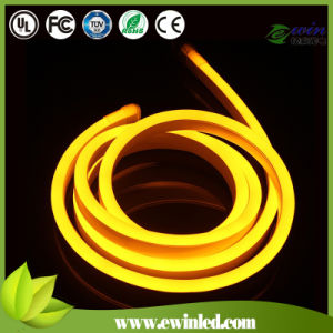Lemon Yellow Mini LED Neon Rope Light with DIP 80LEDs/M pictures & photos