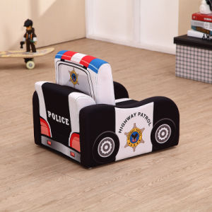 Car Kids Foam Sofa Small Fold out Sofa Bed pictures & photos