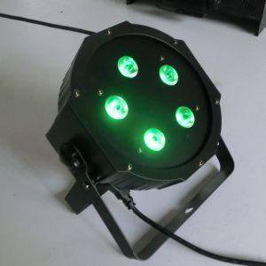 Cheap 5X10W RGBW Plastic Housing DJ Lighting pictures & photos