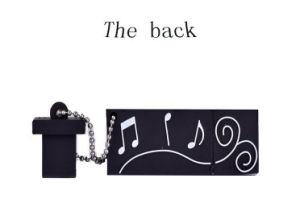 Portable 4GB 8GB 16GB 32GB 64GB USB Disk USB 2.0 Musical Instrument PVC Cute Piano Shape USB Flash Drive pictures & photos