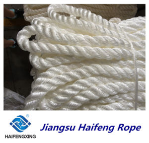 Polypropylene, Polyester Mixed Three Strands Rope Mooring Rope pictures & photos
