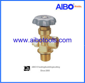 Brass Valve for Sf6 Cylinder -Cga590 pictures & photos