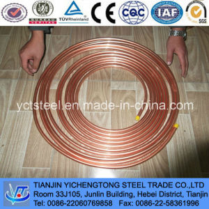 Air Conditioner Pancake Capillary Copper Tube and Pipe C1220 pictures & photos