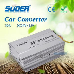 Car Power Converter DC 24V to 12V Car Electronic Converter (SE-30A) pictures & photos