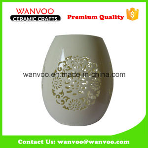 High Quality Elegant White Ceramic Lamp Shade pictures & photos