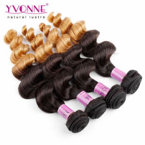 Wholesale Loose Wave Peruvian Remy Hair Ombre Hair Extension pictures & photos