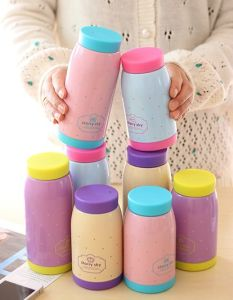 Cute Custom Stainleaa Steel Can Vacuum Flask/Thermos Flask Dn-256 pictures & photos