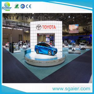 Car Rotating Stage Car Revolving Stage for Sale From Sgaier Truss pictures & photos