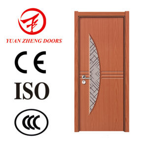 Africa Hot Sale PVC Door Panel Wood Door Designs pictures & photos