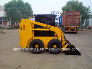 37 Kw Mini Loader, Skid Steer Loader with CE pictures & photos