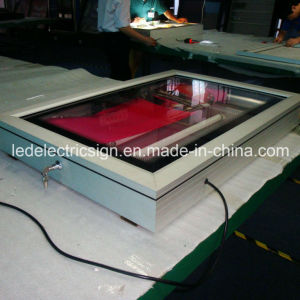 Snap Open Frame Aluminum Profile LED Light Box pictures & photos