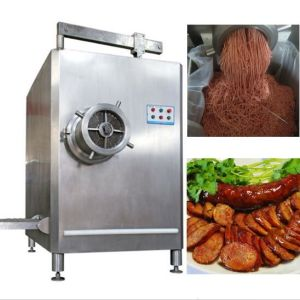 Dual Chopping Cage Automatic Meat Grinder pictures & photos