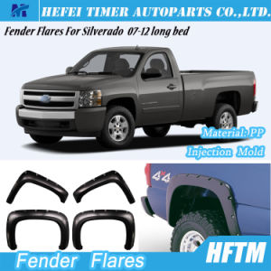 Injection Mold Fender Flares for Silverado 07-12 Long Bed pictures & photos