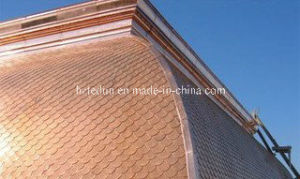 Flatlock Seam Copper Sheet/Metal Shingles pictures & photos