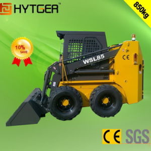 Hydraulic Transmission 850kg Mini Loader (WSL85) pictures & photos