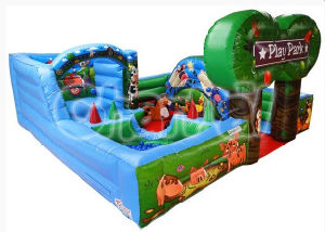 Fun Farmyard Inflatable Jumping Bouncer for Children (CS106) pictures & photos