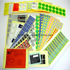 Printing and Package All Kinds of Color Label pictures & photos