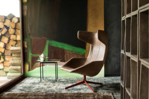 Upholstery Poltrona Designer Lounge Chair pictures & photos