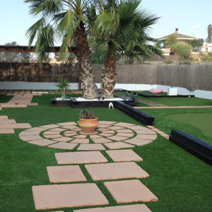 35mm 16000d Artificial Lawn Synthetic Lawn pictures & photos