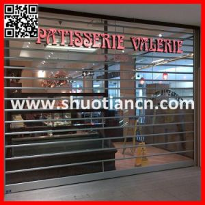 Vision Crystal PC Rolling Shutter Door (st-001) pictures & photos