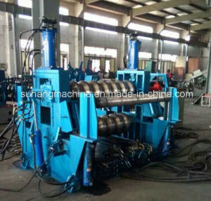 Automaticly Hydraulic Punching PLC Control Steel Silo Roll Forming Machine pictures & photos