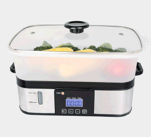 6L Stainless Steel Steam Cooker with Electric Power Covered pictures & photos