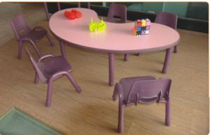 Hot Sale Beauty Daycare Furniture Kids Table and Chair Sets (SF-04C) pictures & photos