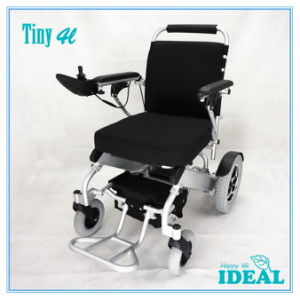 Tiny 4L Folding Electric Wheelchair pictures & photos