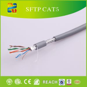 24 AWG Solid Conductor UTP Cat5e LAN Cable pictures & photos