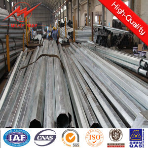 Galvanized Electrical Steel Pole for Electrical Industry pictures & photos