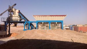 50m3/H Mobile Concrete Batching Plant pictures & photos