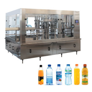 Three-in-One Water Rinser Filler Capper Filling and Packing Machine pictures & photos