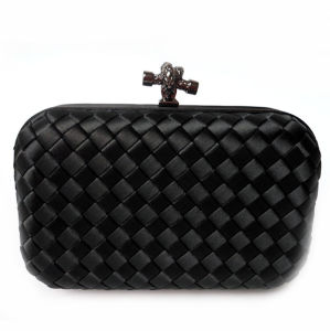 New Party Bag Woven Box Lady Handbag Knot Clutch Bag pictures & photos