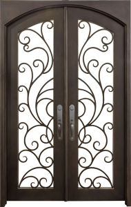 Hand Forged Galvanized Iron Gate pictures & photos
