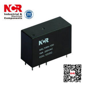 1-Phase 24V Magnetic Latching Relay (NRL709N) pictures & photos