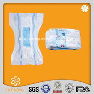 Cloth-Like Baby Diaper with Magic Tapes (A-EM) pictures & photos