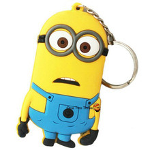 Cheap Wholesale Promotional Rubber Mascot Keychains pictures & photos