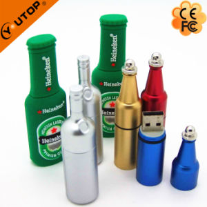 Red Wine Bottle USB Flash Drive as Winery Promotion Gifts (YT-1216-02) pictures & photos