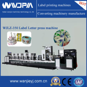 Automatic Intermittent Letterpress Label Printing Machine (WJLZ280) pictures & photos