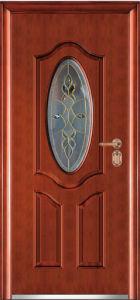 Steel Glass Door (WX-LSG-111) pictures & photos